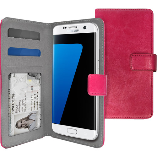 iLuv Universal Diary Case for Galaxy S7 and Galaxy S7 edge (Pink)