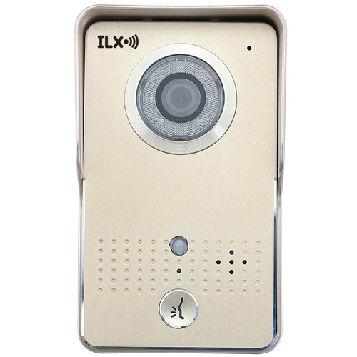 ilx Wi-Fi Video Doorbell Security System (Aluminum)