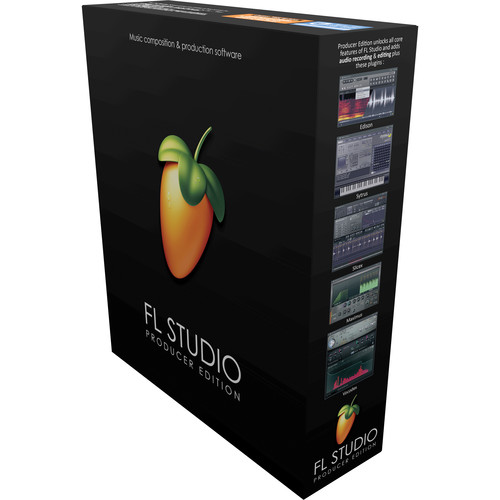 Image-Line FL Studio 12 Producer Edition - Complete Music Production Software (Educational Institution Discount - 5 Station Lab Pack, Boxed)