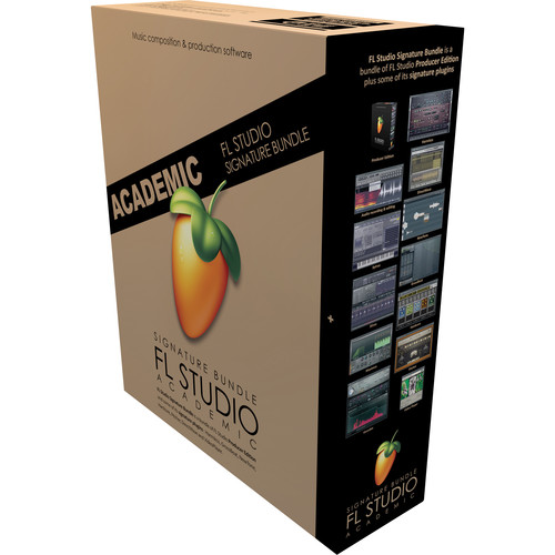 Image-Line FL Studio 12 Signature Edition - Complete Music Production Software (Educational Institution Discount - 5 Station Lab Pack, Boxed)