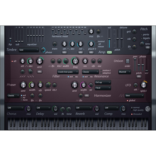 Image-Line Harmless Virtual Synthesizer Plug-In