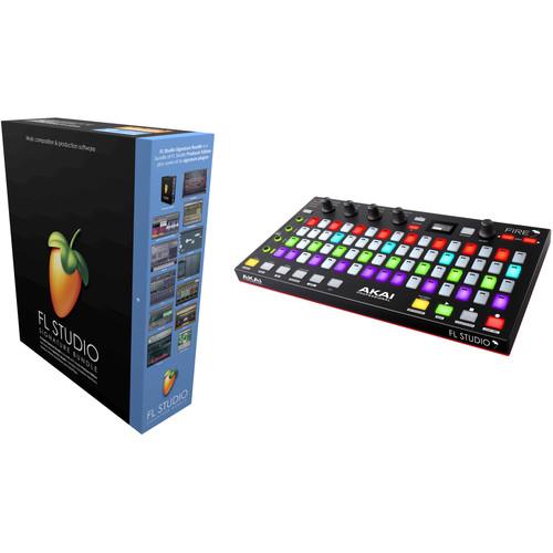 Image-Line FL Studio 20 Signature Bundle Kit with Akai Fire Controller
