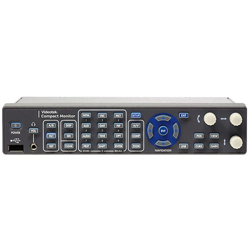 Imagine Communications Videotek CMVS-SDI Compact Monitor and Signal Generator Package