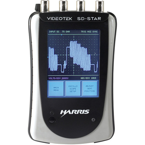 Imagine Communications SD-STAR Handheld SD-SDI and Analog Composite Generator and Monitor