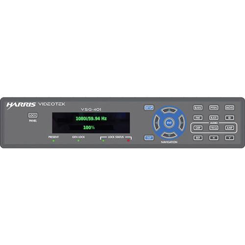 Imagine Communications VSG-401 Compact Video and Audio Signal Generator (1 RU, Half Rack)