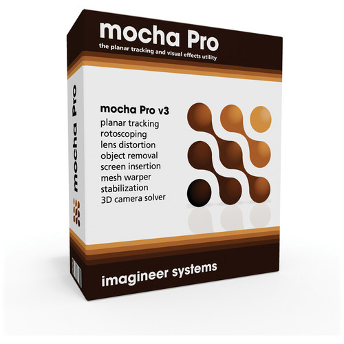 Imagineer Systems mocha Pro v3 Floating License for 3 Computers (Electronic Download)