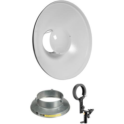 "Impact 16"" Beauty Dish Kit for Speedlights and VC/VS-VSD Monolights"