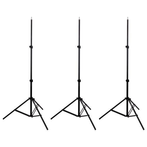 Impact 3 Light Stand Kit (6')