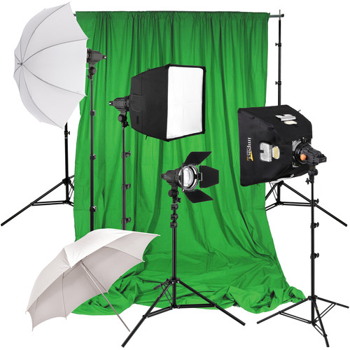 Impact 4 Light Green Screen Kit