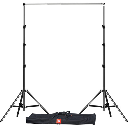 Impact Background Kit with 9' Adjustable Crossbar, 10' Light Stands, and Bag
