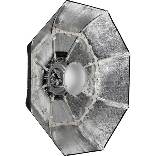 "Impact Folding Beauty Dish (Silver, 28"")"