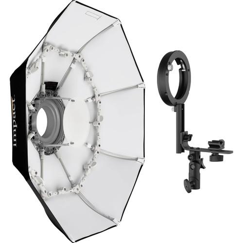 "Impact Folding Beauty Dish with Speedlight Adapter (28"")"
