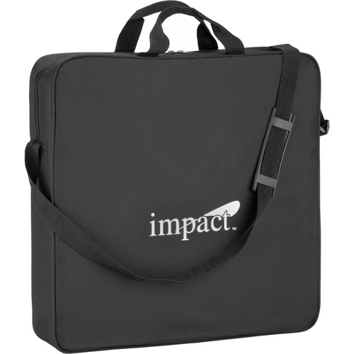 "Impact FRC-RL19CASE Padded Carrying Case for LED or Fluorescent Ring Lights up to 19"" (Black)"