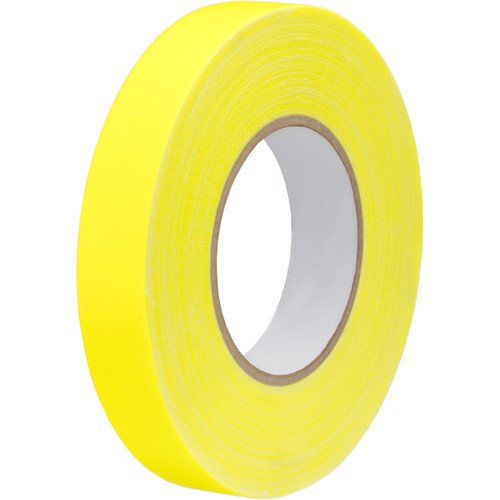 "Impact Gaffer Tape (Neon Yellow, 1"" x 50 yd)"