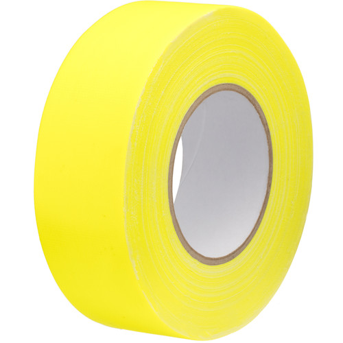 "Impact Gaffer Tape (Neon Yellow, 2"" x 50 yd)"