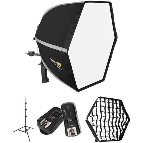 Impact Hexi 24 Softbox Speedlight Solution Kit for Nikon Cameras