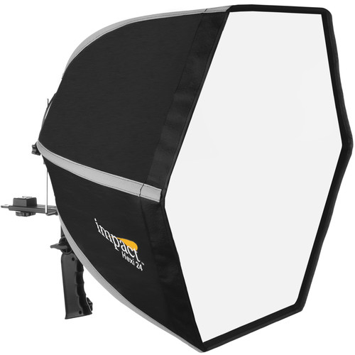 Impact Hexi 24 Speedlight Softbox + Impact Grid