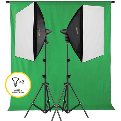 Impact LED Softbox Two Light Kit
