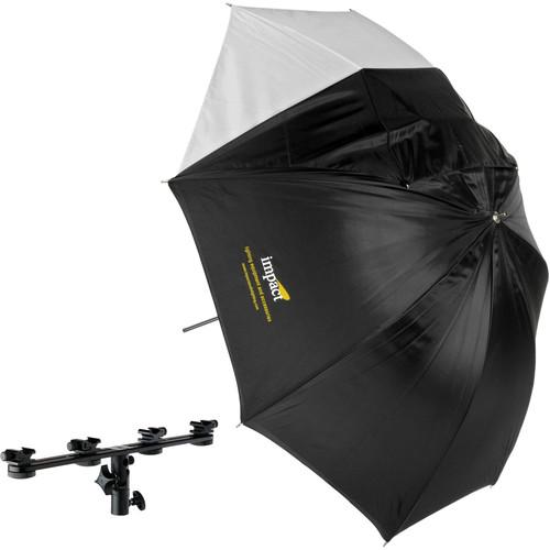 "Impact Lightbar Tilt Bracket with Convertible White Umbrella (60"")"