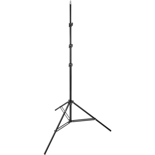 Impact Air-Cushioned Light Stand (Black, 10')