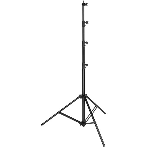 Impact Air-Cushioned Heavy-Duty Light Stand (Black, 13')