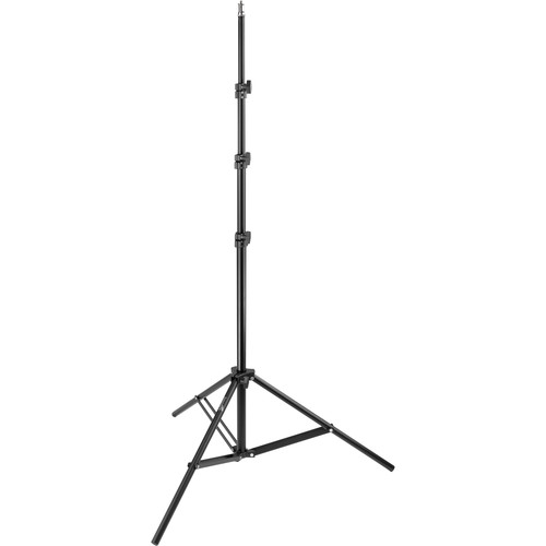 Impact Air-Cushioned Light Stand (Black, 8')