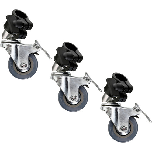Impact 22mm Locking Casters (Set of 3)