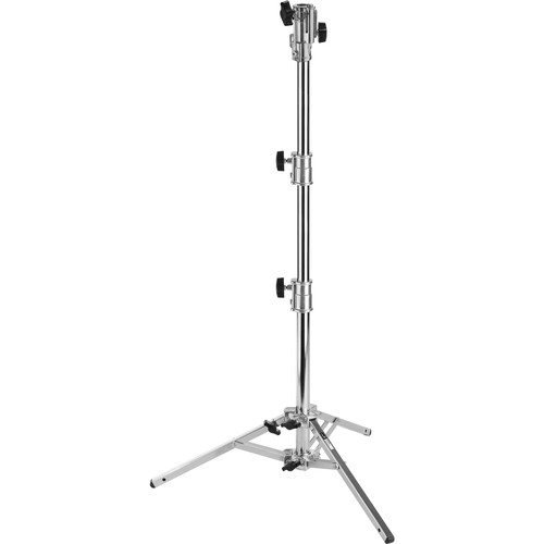 Impact Lowboy Steel Stand with Leveling Leg and Combo Head (6.5')