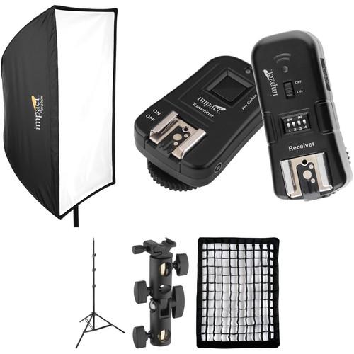 Impact Parabox Softbox Speedlight Solution Kit for Canon Cameras