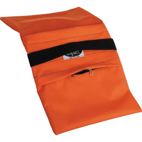 Impact Empty Saddle Sandbag Kit, Set of 6 - 18 lb (Orange)