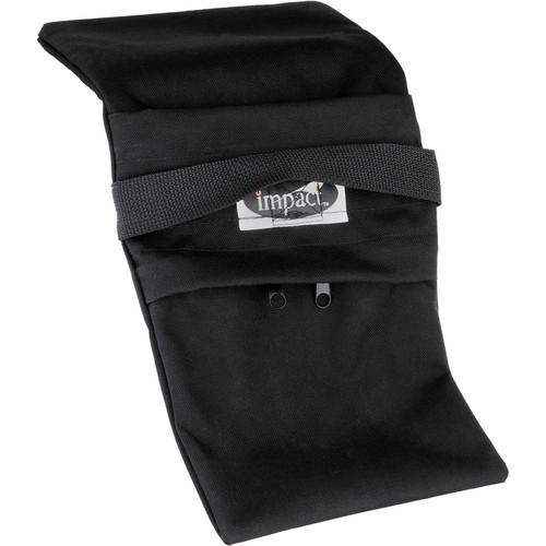 Impact Empty Saddle Sandbag Kit, Set of 6 - 5 lb (Black)