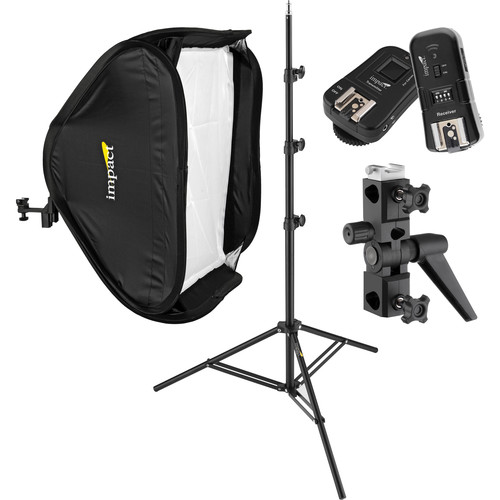 Impact Quikbox Softbox Speedlight Solution Kit for Canon Cameras