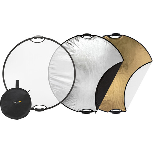 "Impact 5-in-1 Collapsible Circular Reflector with Handles (32"")"