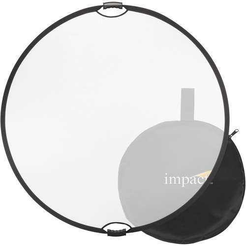"""Impact Collapsible Circular Reflector with Handles (32"""", Translucent)"""