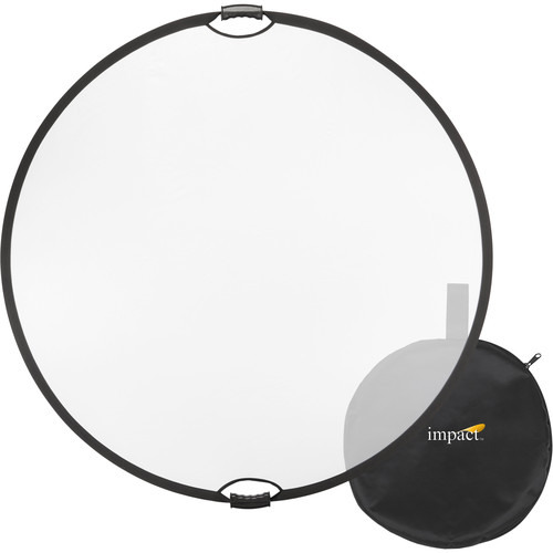 "Impact Collapsible Circular Reflector with Handles (52"", Translucent)"