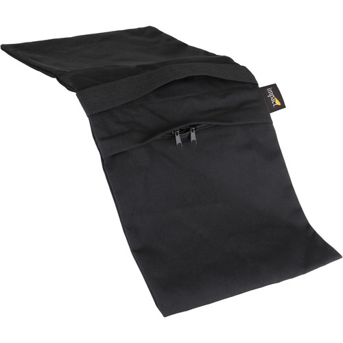 Impact Empty Saddle Sandbag - (35 lb Capacity, Black)