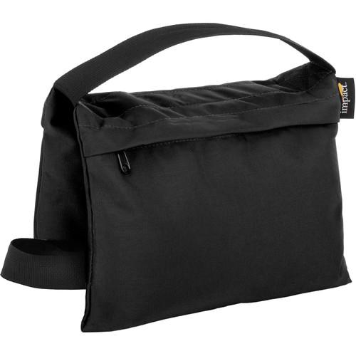 Impact Filled Saddle Sandbag (15 lb, Black)