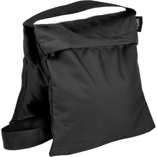 Impact Filled Saddle Sandbag (25 lb, Black)