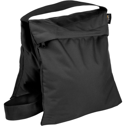 Impact Saddle Sandbag (35 lb, Black)