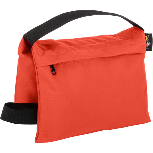 Impact Filled Saddle Sandbag (15 lb, Orange)