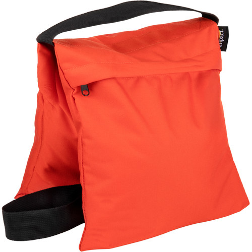 Impact Filled Saddle Sandbag (25 lb, Orange)