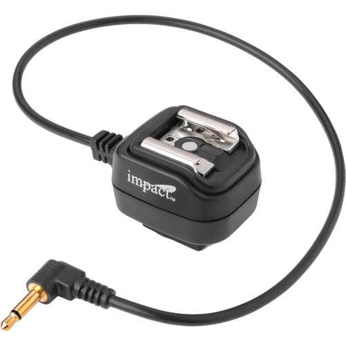 "Impact SCS-M18 Mini Plug to Hot Shoe Sync Cord (12"")"