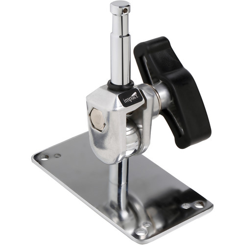 "Impact Wall Plate with 5/8"" Baby Swivel"