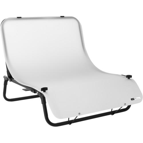 "Impact Desktop Shooting Table with 24 x 36"" Translucent Plexiglas Sheet"