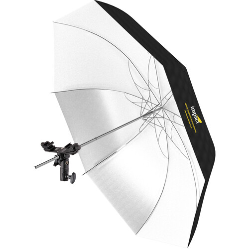 "Impact Twin Shoe Umbrella Bracket with Convertible White Umbrella (32"")"