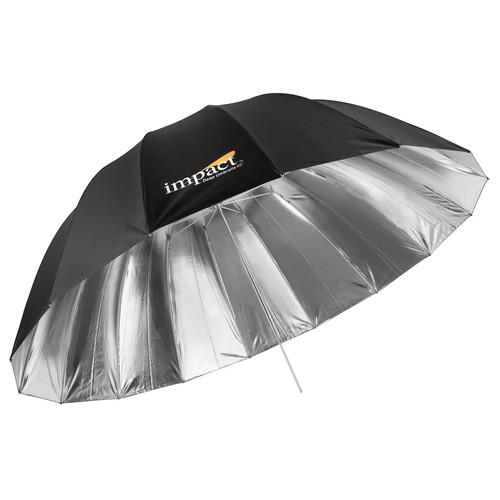 "Impact X-Large Deep Silver Umbrella (65"")"