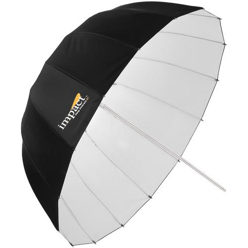"Impact Small Deep White Umbrella (33"")"