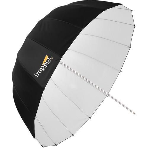 "Impact Small Deep White Umbrella (Improved,33"")"