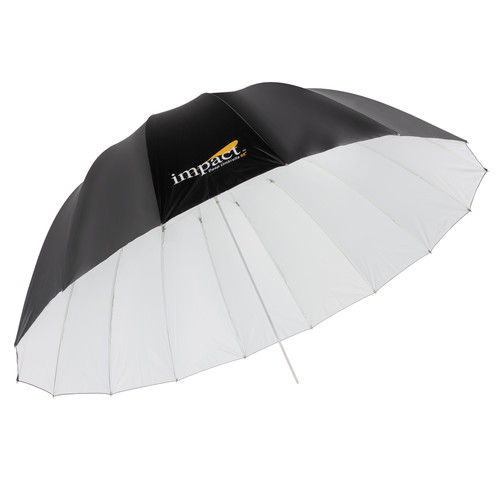 "Impact X-Large Deep White Umbrella (65"")"
