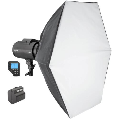 Impact Venture TTL-600 Battery-Powered Monolight Kit with Nikon Controller